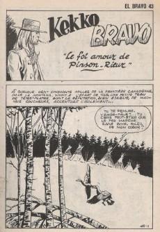 Extrait de El Bravo (Mon Journal) -43- Le fol amour de Pinson-Rieur