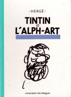 Extrait de Tintin (Historique) -24- Tintin et l'Alph-Art