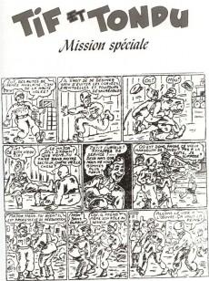 Extrait de Tif et Tondu (Taupinambour) -8- Mission spéciale
