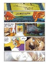 Extrait de Les immortels (Desberg/Reculé) -2- La volonté du mal