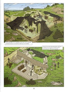 Extrait de Lefranc (Les voyages de/Les reportages de) -4- Le mur de l'atlantique