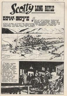 Extrait de Long Rifle -29- Cow-boys