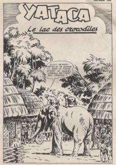 Extrait de Yataca (Fils-du-Soleil) -152- Le lac des crocodiles