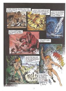 Extrait de Rahan - La Collection (Altaya) -1- L'enfance de Rahan - Le secret du soleil - La horde folle