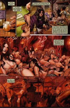 Extrait de Red Sonja: Revenge of the Gods (2011) -1- Issue #1