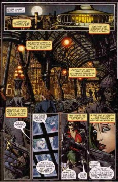 Extrait de Vampirella (2010) -4B&W- Crown of worms part 4