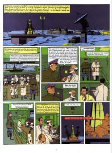 Extrait de Blake et Mortimer -14Soir- La Machination Voronov