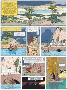 Extrait de Blake et Mortimer -18Soir- Le sanctuaire du Gondwana