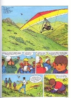 Extrait de La patrouille des Castors -30- La pierre de foudre