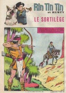 Extrait de Rin Tin Tin & Rusty (2e série) -175/176- Le sortilège