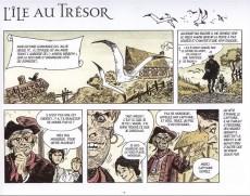 Extrait de L'Île au trésor (Pratt) -1b- L'Île au trésor suivi de Enlevé !