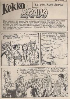 Extrait de El Bravo (Mon Journal) -42- Le ciel était rouge