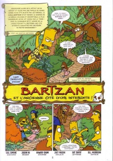 Extrait de Bart Simpson (Jungle !) -1- Prince de la farce