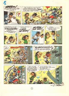 Extrait de Gaston -12a1981- Le Gang des gaffeurs