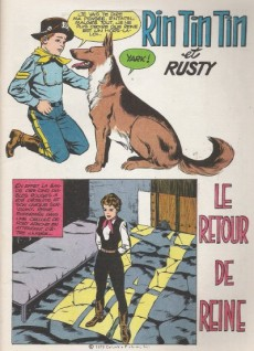 Extrait de Rin Tin Tin & Rusty (2e série) -113- Le retour de Reine