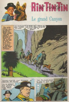Extrait de Rin Tin Tin & Rusty (2e série) -136- Le Grand Canyon