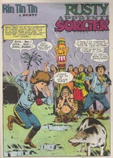 Extrait de Rin Tin Tin & Rusty (2e série) -156- Rusty apprenti sorcier