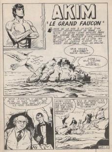 Extrait de Akim (1re série) -609- Le grand faucon