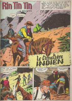 Extrait de Rin Tin Tin & Rusty (2e série) -8- Le cimetière indien