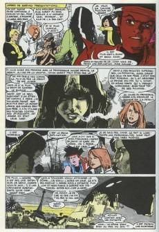 Extrait de Super Héros (Collection Comics USA) -47- Nouveaux Mutants 3/3 : Angoisses