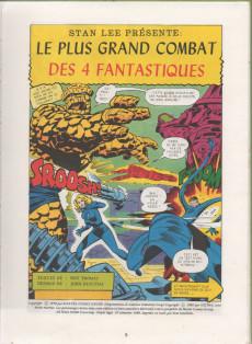 Extrait de Best of Marvel (The) (Collection) -1- Le plus grand combat des 4 Fantastiques
