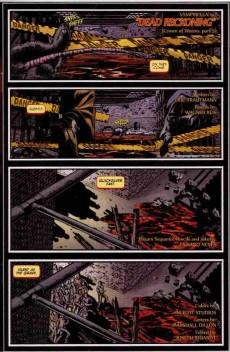 Extrait de Vampirella (2010) -5BR- Crown of worms part 5 : dead reckoning