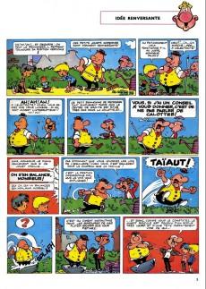 Extrait de Achille Talon -1c94- Les idées d'Achille Talon cerveau-choc !