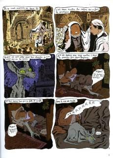 Extrait de Le chat du Rabbin -3a- L'exode