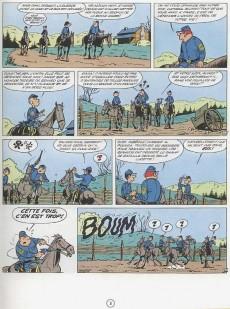 Extrait de Les tuniques Bleues -2c82- Du nord au sud