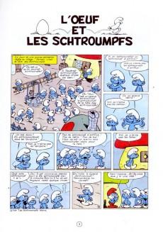 Extrait de Les schtroumpfs -4b89- L'œuf et les schtroumpfs