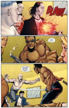 Extrait de Ultimate Avengers -7- Blade contre les Vengeurs (1)