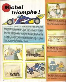 Extrait de Michel Vaillant -HS5- Michel Vaillant (album d'images Panini)