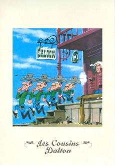 Extrait de Lucky Luke - Les Dessous d'une création (Atlas) -22- Les Cousins Dalton / Le juge