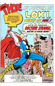 Extrait de Marvel Classic (1re série) -2- Le pouvoir du Dieu du tonnerre!