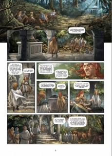 Extrait de Les seigneurs de Cornwall -2- La Filleule des Fées