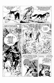 Extrait de Phantom (The) (Mitton) -1- La mort jaune / Les enfants de la forêt