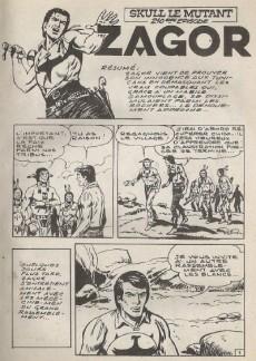 Extrait de Yuma (1re série) -290- Skull le mutant
