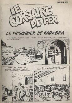 Extrait de Brik (Mon journal) -209- Le prisonnier de Kadabra