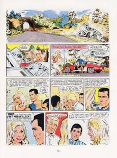 Extrait de Michel Vaillant -18c1977- De l'huile sur la piste !