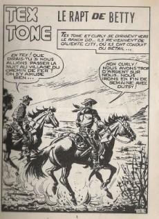 Extrait de Tex-Tone -523- Le rapt de Betty