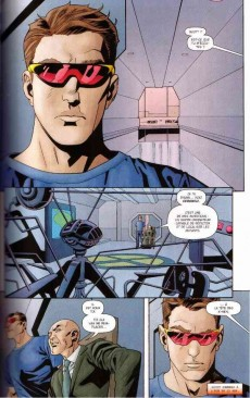 Extrait de X-Men - Les origines -2- Cyclope - Iceberg - Jean Grey - Le Fauve