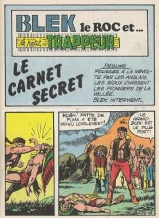 Extrait de Blek (Les albums du Grand) -493- Le carnet secret