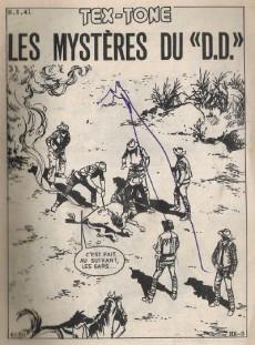 Extrait de Tex-Tone -480- Les mystères du