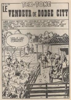 Extrait de Tex-Tone -184- Le vendeur de Dodge City
