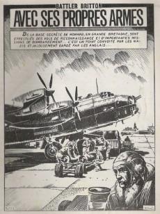 Extrait de Battler Britton (Imperia) -414- Avec ses propres armes