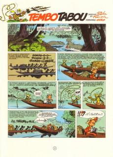 Extrait de Spirou et Fantasio -24b80- Tembo Tabou