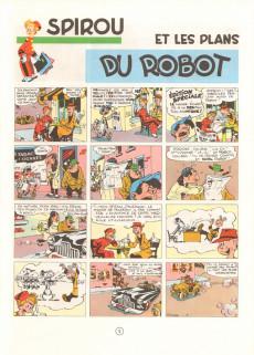 Extrait de Spirou et Fantasio -1d1979- 4 aventures de Spirou ...et Fantasio