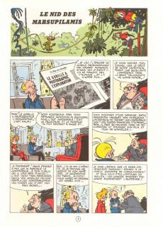 Extrait de Spirou et Fantasio -12d80- Le nid des Marsupilamis