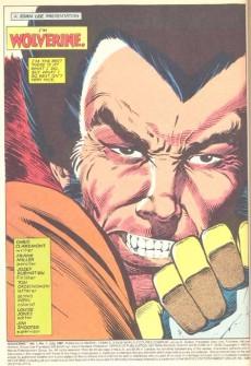 Extrait de Wolverine (1982) -INT- Wolverine