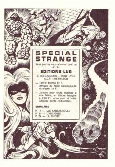 Extrait de Spécial Strange -2- Spécial Strange 2